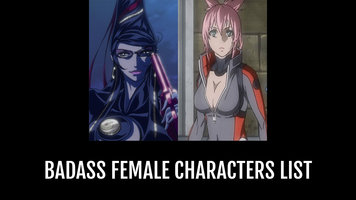 badass female characters - by ravenhead   Anime-Planet