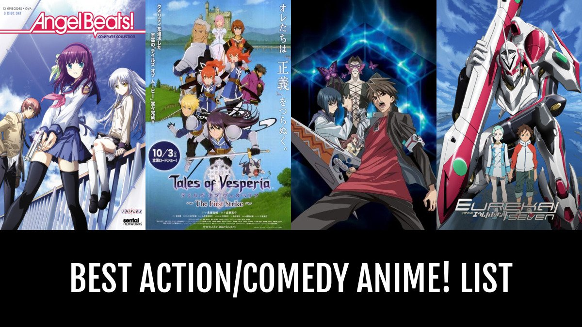 Best action comedy anime by phantomphreek anime planet