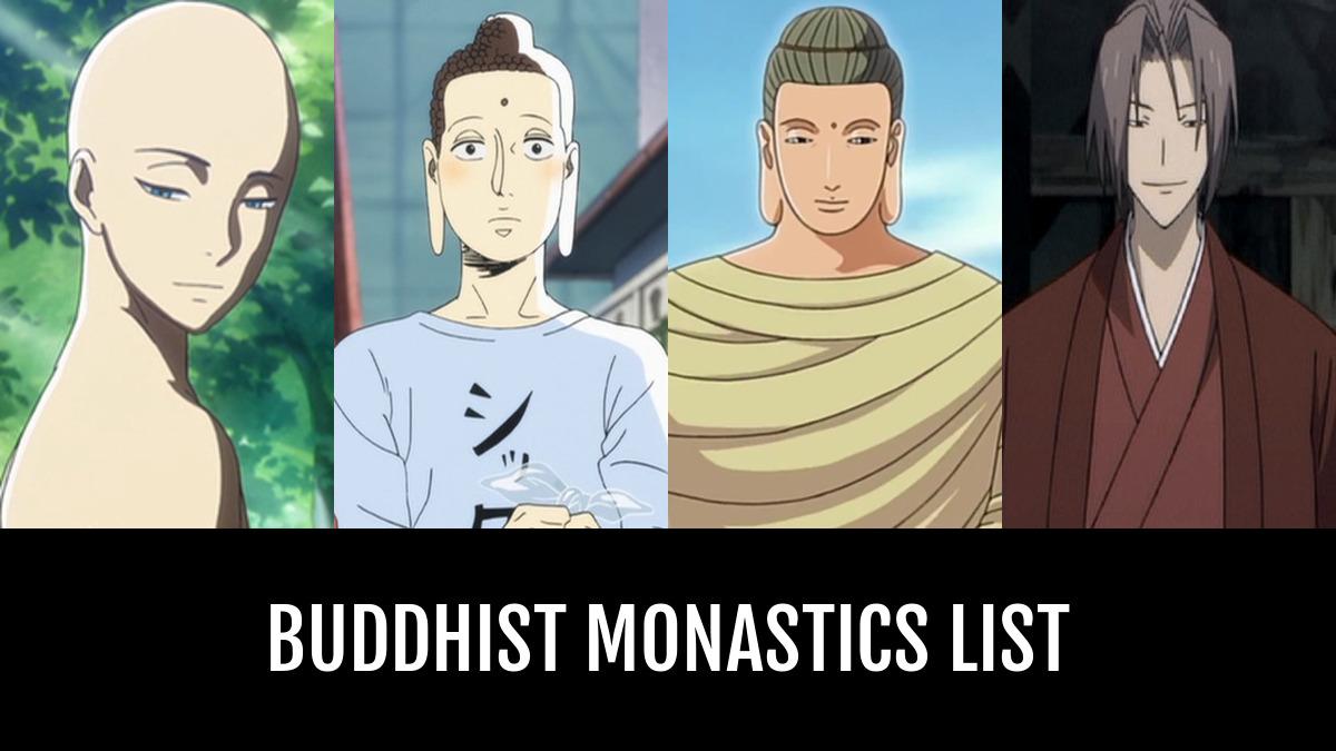 Buddha 2 Anime Characters : Buddhist monastics by annasartin anime planet