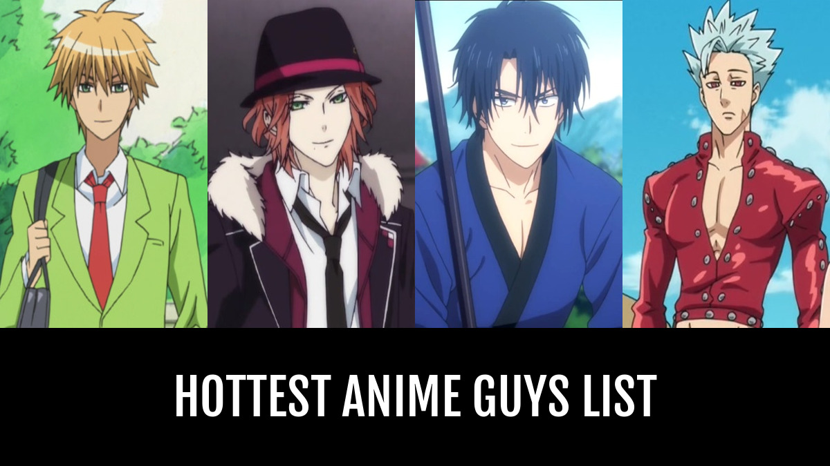 Hottest anime guys by thatemogirl anime planet
