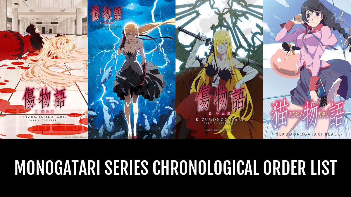 Monogatari Series Order