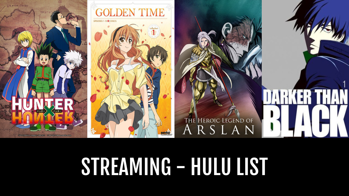 streaming hulu by laurbits anime planet