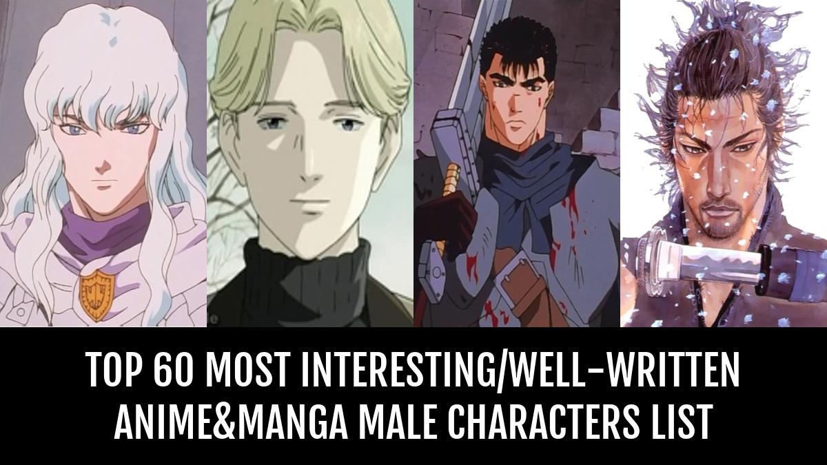 Top 60 Most Interesting Anime Manga Male Characters