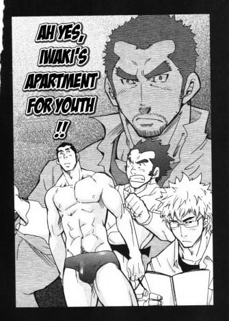 Ah Yes, Iwaki's Apartment for Youth!