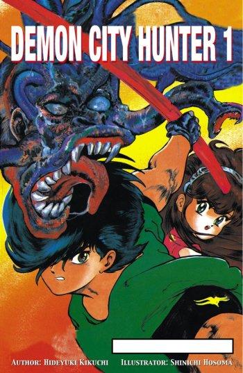 Demon City Hunter Manga Anime Planet