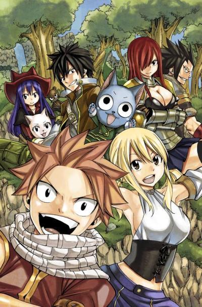 Fairy Tail Manga Online