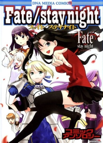 Fate/Stay Night DNA Comic Manga Anthology