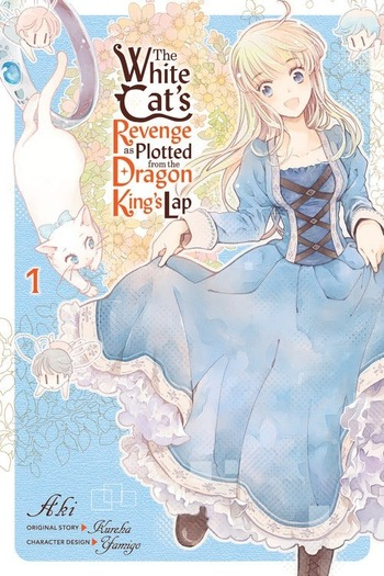 The White Cat Who Swore Vengeance Was Just Lazing on the Dragon King's Lap