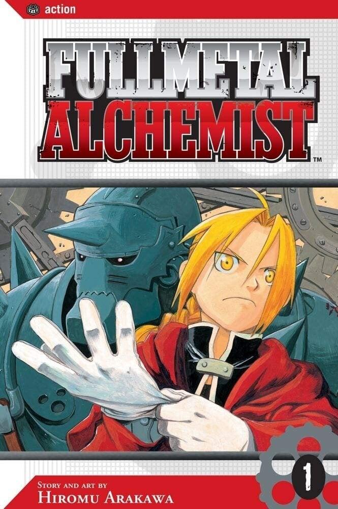 full metal alchemist manga - photo #4