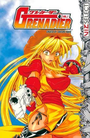 Grenadier Manga Anime Planet