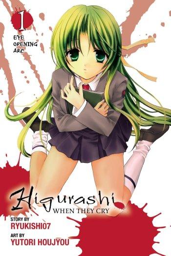 Higurashi When They Cry Eye Opening Arc Manga Anime Planet