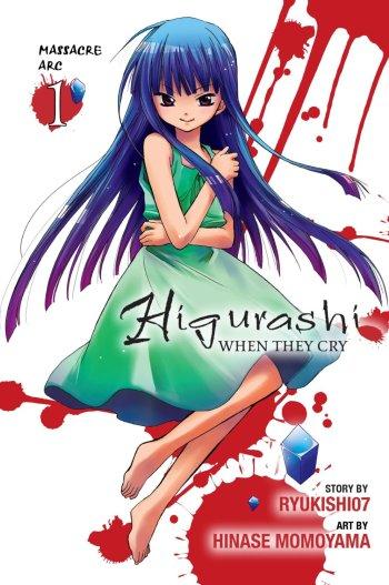 Higurashi When They Cry Massacre Arc Manga Anime Planet