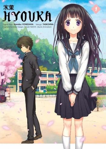 Hyouka Manga Anime Planet