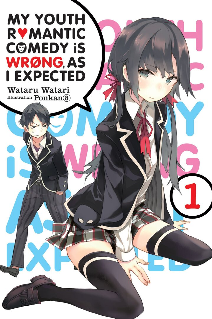 My Youth Romantic Comedy Is Wrong As I Expected. (Light Novel) main image