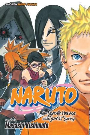Naruto: The Seventh Hokage and the Scarlet Spring Manga | Anime-Planet