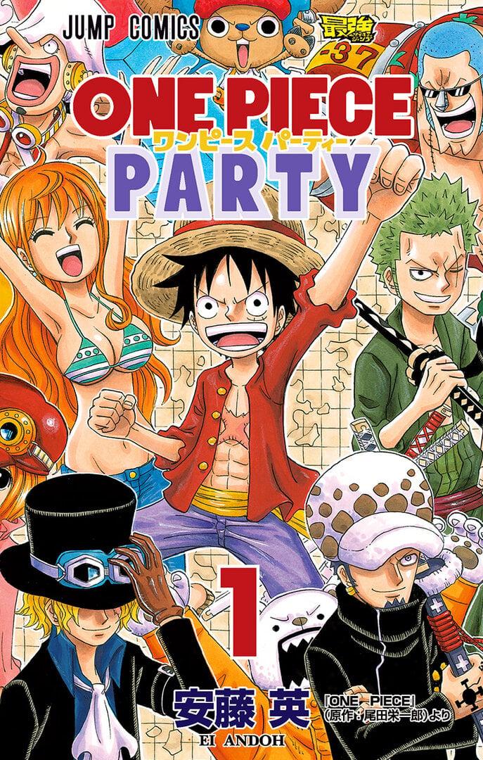 One Piece Party Manga Anime Planet