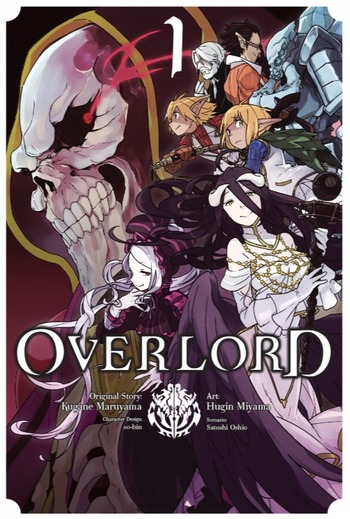 Overlord Manga Recommendations | Anime-Planet