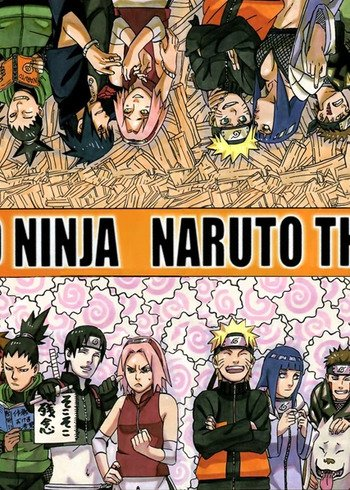 Road to Naruto the Movie Manga | Anime-Planet