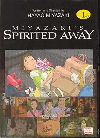 Spirited Away Manga Anime Planet