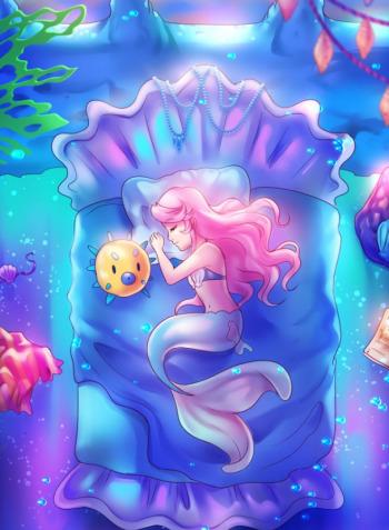 Magical girl mermaid