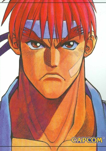 Street Fighter Alpha Manga Anime Planet