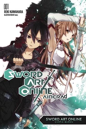 sword art online light novel manga anime planet. Black Bedroom Furniture Sets. Home Design Ideas