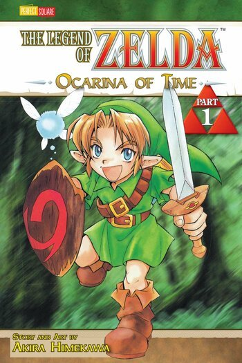 The Legend Of Zelda Ocarina Of Time Manga Anime Planet