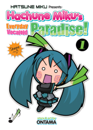 Hachune Miku's Everyday Vocaloid Paradise Manga