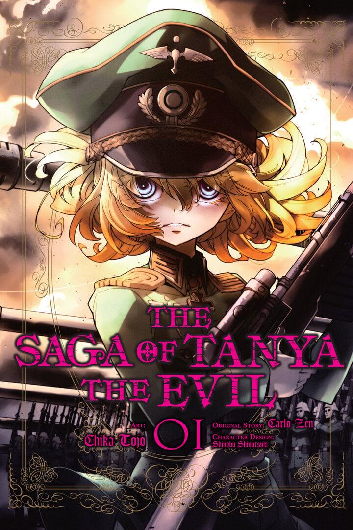 Youjo Senki Saga Of Tanya The Evil Manga  Anime-Planet-3985