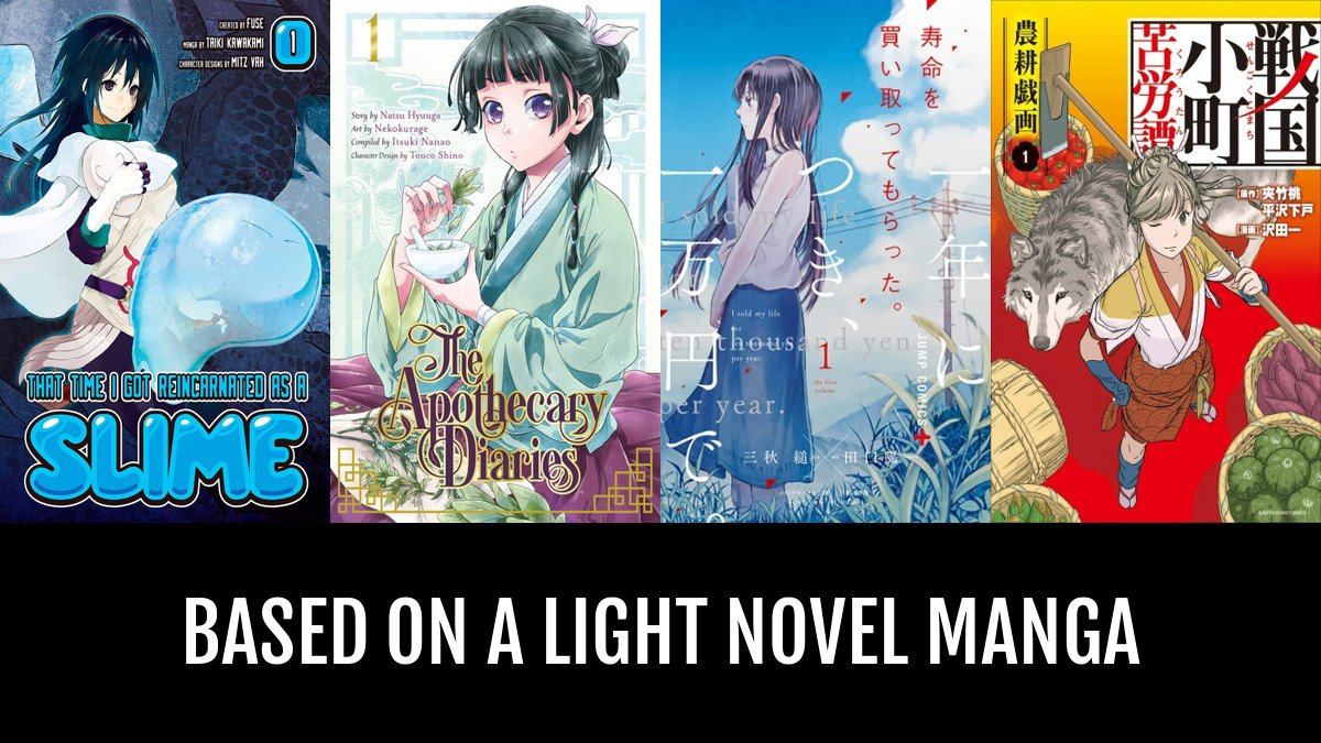 Best Based on a Light Novel Manga | Anime-Planet