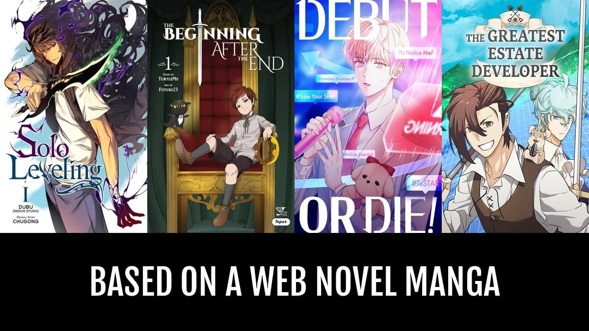 Best Based on a Web Novel Manga | Anime-Planet