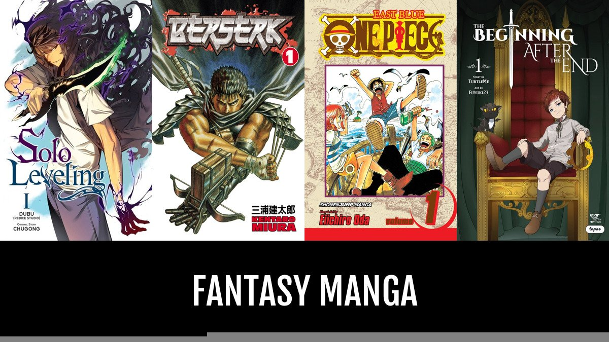 Best Fantasy Manga | Anime-Planet