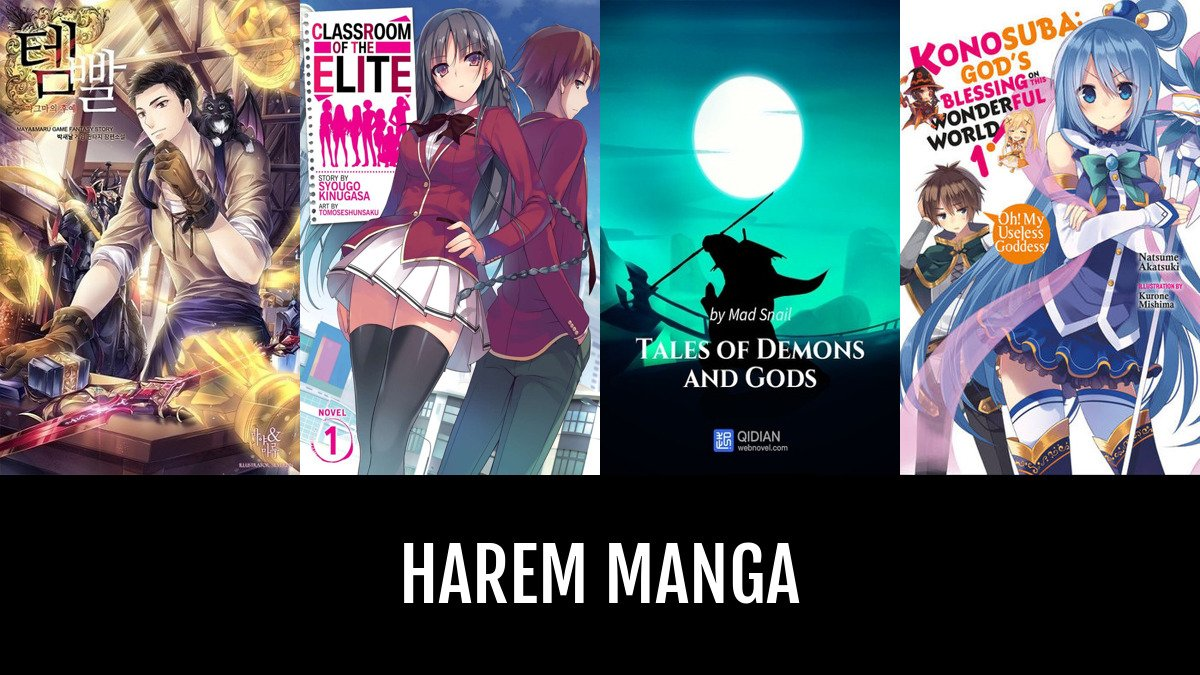 Best Harem Manga | Anime-Planet