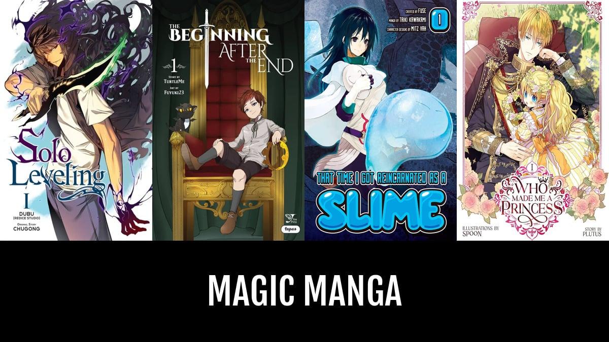 Best Magic Manga | Anime-Planet