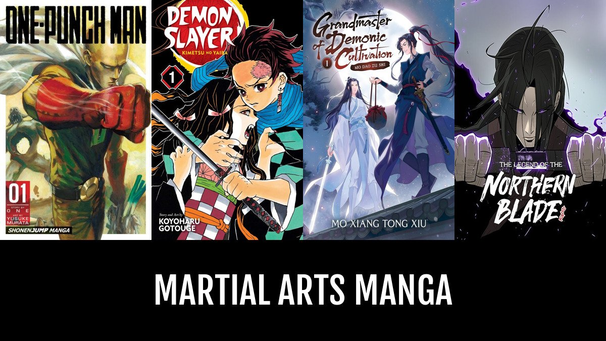 Martial Arts Manga Anime Planet