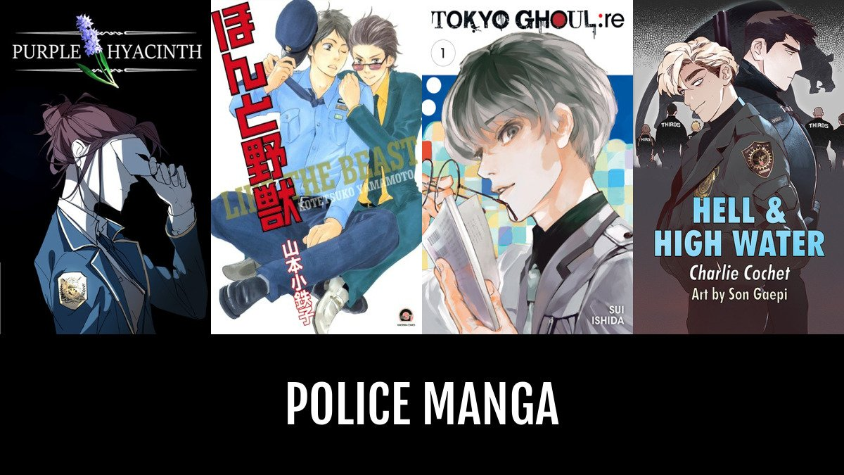 Best police manga anime planet