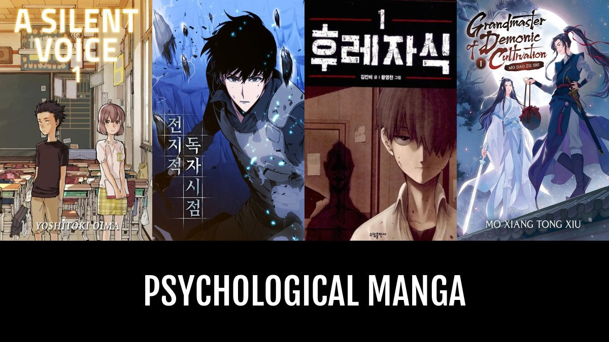Best psychological manga anime planet
