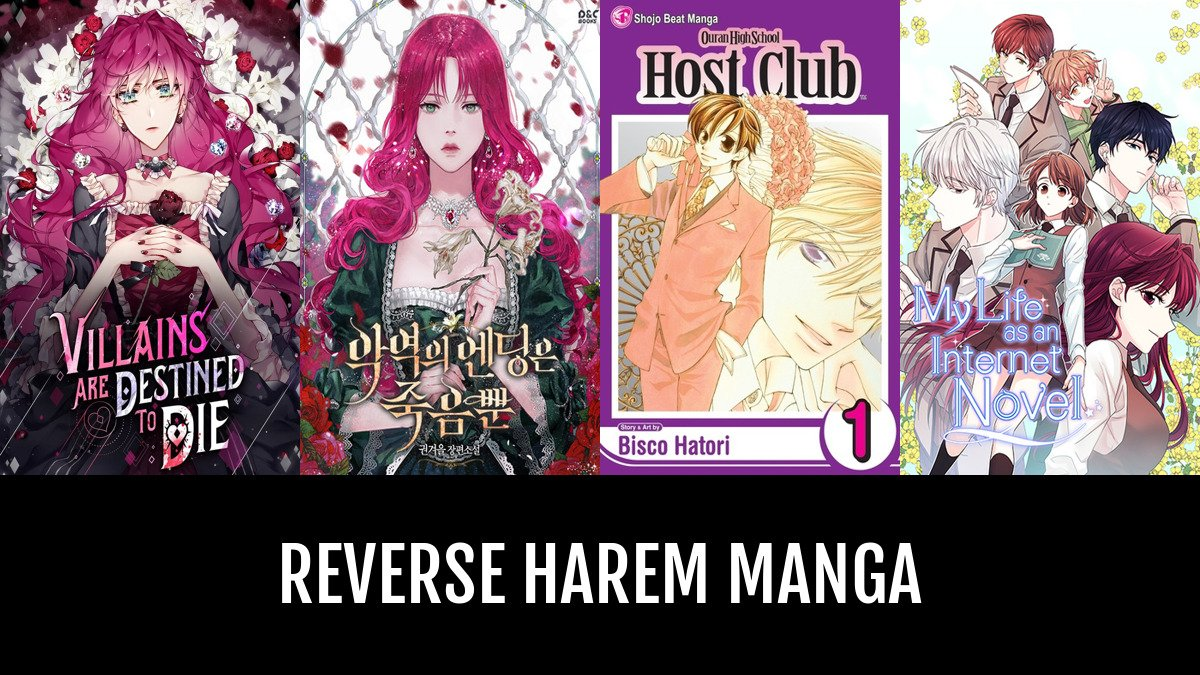 Best Reverse Harem Manga | Anime-Planet