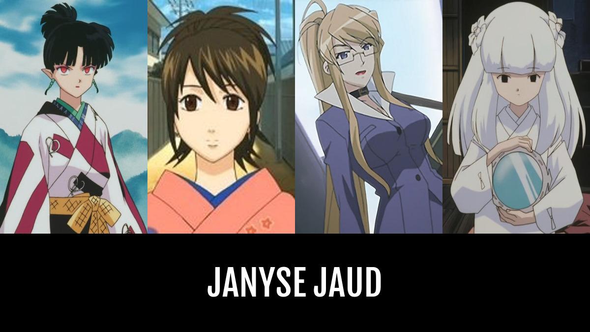 Janyse JAUD   Anime-Planet