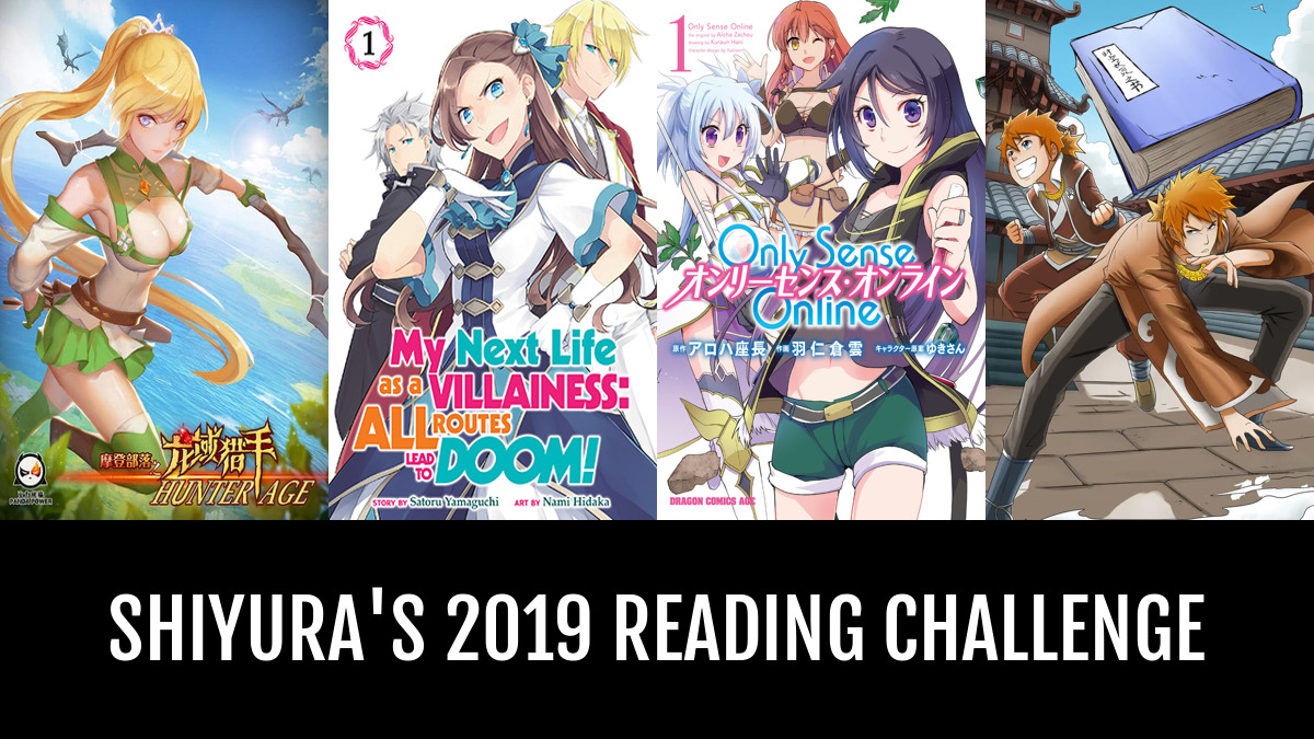 Shiyura's 2019 Reading Challenge | Anime-Planet
